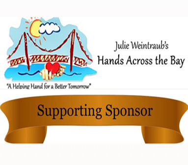 Hands across bronze sponsor