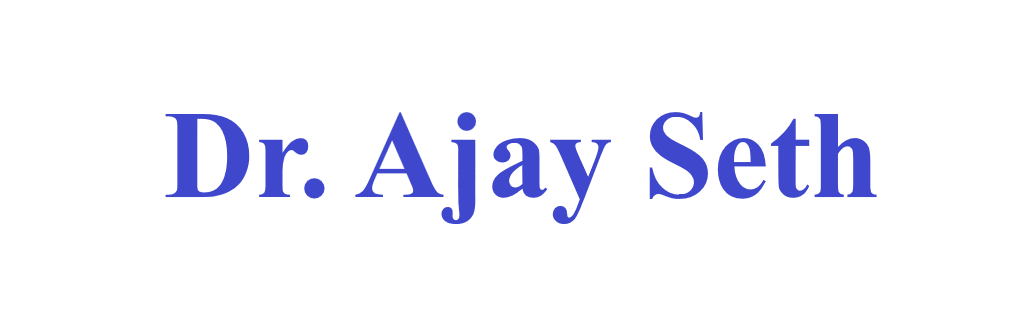 Dr. Ajay Seth< Logo
