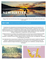 2020 Spring Caregiver Newsletter