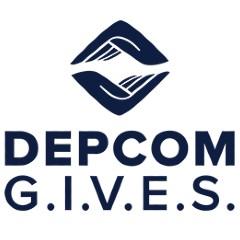 depcom gives logo
